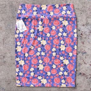NWT Lularoe Cassie Skirt Floral Print